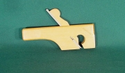 Miniature Boxwood Tailed Rebate Plane by Albert Keating - Product Image