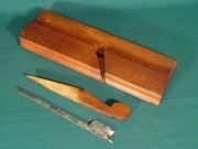 18th Century Yellow Birch Bead Plane by Joe Fuller - Product Image