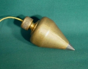 Brass Plumb Bob - Product Image