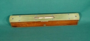 10 inch Mahogany Sighting Level. - Product Image