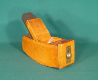 Solid Boxwood Compass Plane - Product Image