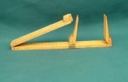 Boxwood & Brass Shoe Rule by Rabone - Product Image
