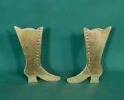 Pair of Ornamental Victorian Ladies Boots - Product Image
